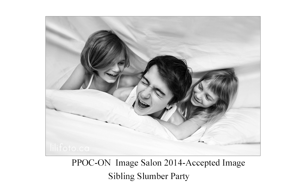 Lilifoto-Sibling Slumber Party